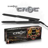 Plancha Para Cabello Croc Diamond Infrarroja Polvo Diamante