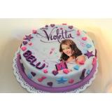 Torta Cumpleaños Infantiles Decoradas A Pedido Violetta Tini