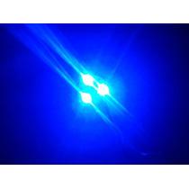 Módulo Led De 8w Azul Con Base