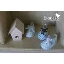 Cajitas Cajas Mesa De Dulces Baby Shower Bautizo Zapatitos