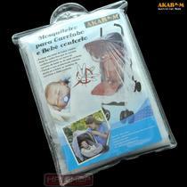 Mosquiteiro Bebê Conforto Carrinho Filó Tela Moisés Elástico