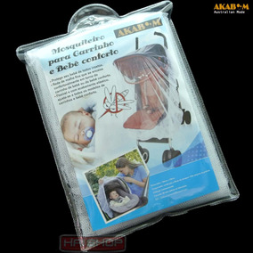 Mosquiteiro Bebê Conforto Carrinho Filó Tela Protetora Forte
