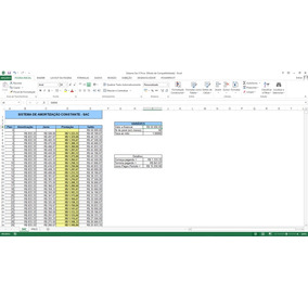 Planilha Excel Para Amortização De Juros Sistema Sac E Price