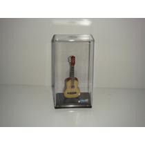 Miniatura De Violão Acústico No Acrilico 12cm