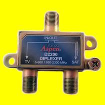 Diplexer Combinador Separador Vhf Cabletv Satelite Fta