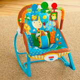 Silla Mecedora Crece Contigo Fisher Price Modelo Jungle Fun