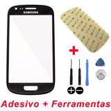 Tela Vidro Galaxy S3 Mini I8190 Display Adesivo+ferramentas