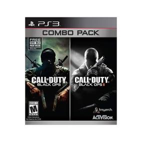 Call Of Duty: Black Ops Combo Pack2 Jogos Ps3 Mídia Física