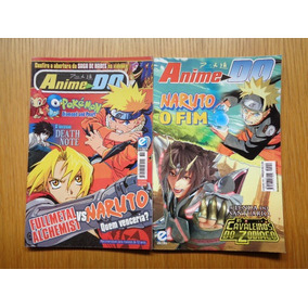 Revista Anime Do #89 & 130 Naruto, Cavaleiros, Death Note