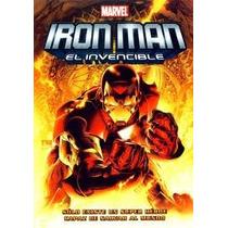 Dvd Anime Caricatura Iron Man El Invencible Vengador Tampico