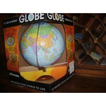 Globo Terráqueo 30 Cms De Diámetro Con Relieves Globemaster