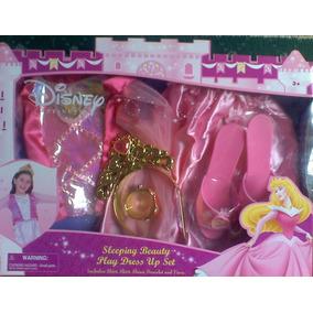 Princesa Aurora Disfraz Con Ropa Y Accesorios