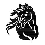 Ca01975 - Painel Cavalo - Arte Em Ferro
