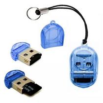 1000 Unidades Mini Leitor De Cartão Memória Micro Sd Usb 2.0