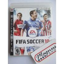 Fifa 10 Para Playstation 3 Ps3 Genial Titulo Futbol Español