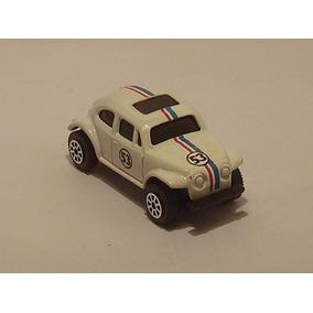 Herbie Vw Cupido Motorizado 1/64 Autito Auto Antiguo Juguete