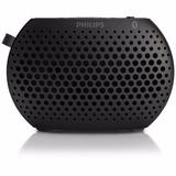 Parlante Philips Bluetooth Mini Black