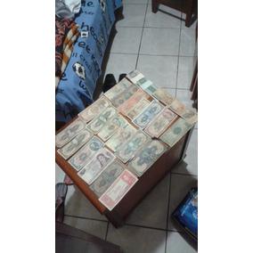 Coleção De Dinheiro Antigo Cédulas Antigas