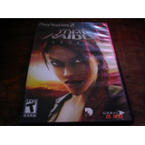 Playstation 2 Tomb Raider Legend Ps2