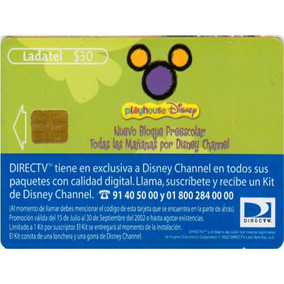 Tarj Playhouse Disney Directv