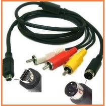 Cable Audio Video Vmc-15fs P/ Video Camaras Sony Dcr-sr90
