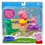 Juguete Peppa Pig, George Y Squirters Dinosaurio De Baño