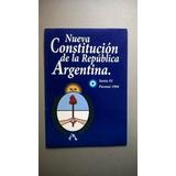 Nueva Constitución De La República Argentina