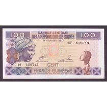 Guinea 1960 Billete De 100 Francos Sin Circular