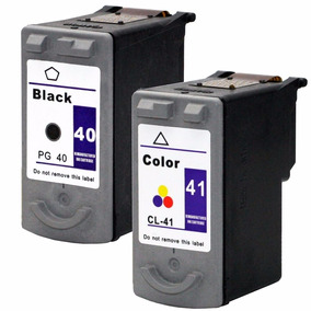 Kit Cartucho Pg40 + Cl41 Ip1800 Ip1900 P1200 Ip1300 Ip1600