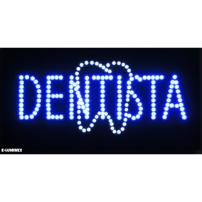 Anuncio Luminoso Dentista