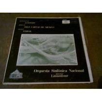 Disco Acetato De Orquesta Sinfonica Nacional Director Lamant
