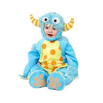 Disfraz Para Niño Traje Del Bebé Charadas Mini Monster