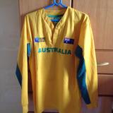 Camisa Da Seleçao De Rugby Da Australia Tamanho L/xl