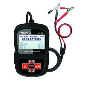 Foxwell Bt100 - Probador De Baterías De 12v