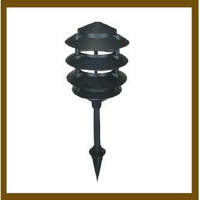 Lámpara Para Jardín Tipo Estaca, Resistente Cambios De Clima