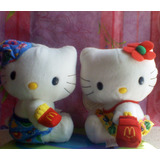 Hello Kitty Par De Peluches Vestidos Playeros