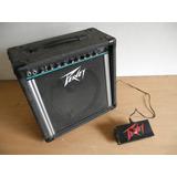 Amplificador Peavey Para Guitarra-35watts - Con Pedal Switch