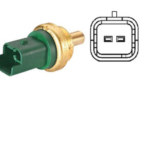 Sensor Temperatura Plug Verde Xsara Picasso 2.0 Hdi 2000/..