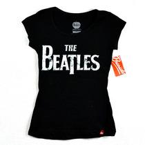 The Beatles Playera De Dama 100% Original
