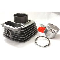 Kit Cilindro Motor C/ Pistão E Aneis Cg Titan 150 04 Á 08