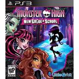 Monster High New Ghoul In School Ps3 Fisico Nuevo Sellado