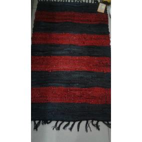Alfombra De Cuero - 50x80cm- 90% Cuero Y 10%algodón