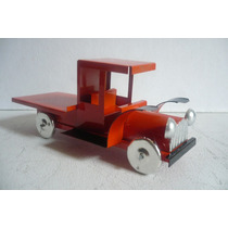 Camion Plataforma - Camioncito De Lamina - Juguete Artesania
