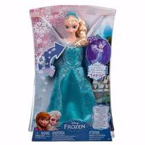 Bonecas Disney Frozen Elsa Musical E Luzes Cmk56 - Mattel