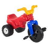 Triciclo Montable Con Sonidos Pedales Juguete Niño Niña