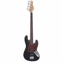 Baixo Contrabaixo 4 Cordas Giannini Gb-1 Jazz Bass Preto Bk