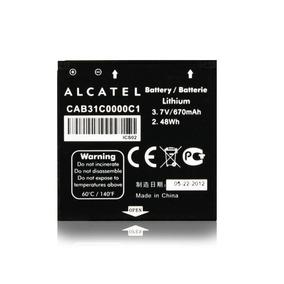 Bateria Alcatel Ot-606 Ot-606a Original Cab31c0000c1
