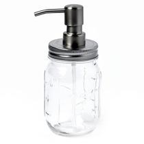 Mason Jar Despachador De Jabon Con Frasco De 16 Oz