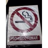 Avisos - Señalización Industrial - Señales No Fume