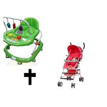 Combo Andador Y Coche Paraguas Liviano Disney Bebe Niños